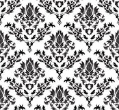 Damask seamless background Stock Image