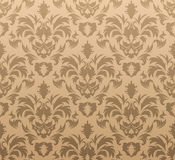 Damask seamless background Royalty Free Stock Images