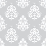 Damask seamless background Royalty Free Stock Images