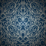 Damask seamless backgrounds Stock Photography