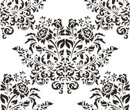Damask seamless backgrounds Royalty Free Stock Image