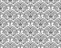 Damask seamless backround Royalty Free Stock Images