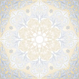 Damask Seamless With Baroque Ornaments. Stock Photo