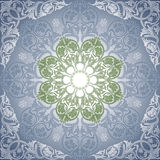 Damask Seamless With Baroque Ornaments. Stock Image