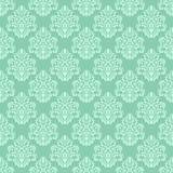 Damask seamless floral ornamental Wallpaper for design Stock Photo