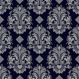 Damask seamless floral ornate Wallpaper for design Stock Images