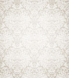 Damask seamless floral pattern Royalty Free Stock Image