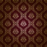 Damask seamless floral pattern royalty free illustration