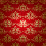 Damask seamless floral pattern Royalty Free Stock Photo