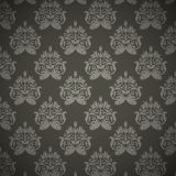 Damask seamless floral pattern Royalty Free Stock Photography