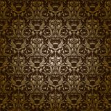 Damask seamless floral pattern Royalty Free Stock Photo