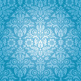 Damask Seamless Floral Pattern Stock Image