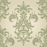 Damask seamless floral pattern. royalty free illustration