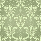 Damask seamless floral pattern. Damask seamless pattern for design. Vector Illustration royalty free illustration
