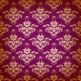Damask seamless floral pattern. Royalty Free Stock Images