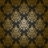 Damask seamless floral pattern. Royalty Free Stock Photography