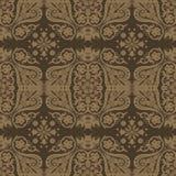 Damask seamless floral pattern Royalty Free Stock Image