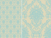 Damask seamless floral pattern. Royal wallpaper. Stock Photo