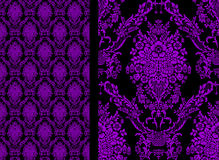 Damask seamless floral pattern. Royal wallpaper. Royalty Free Stock Photo