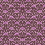 Damask seamless floral pattern Stock Photography