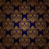 Damask seamless floral pattern royalty free illustration