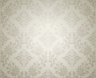 Damask seamless floral wallpaper Royalty Free Stock Image