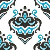 Damask  seamless flourish  pattern Royalty Free Stock Photos