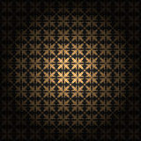 Damask seamless ornament. Fine vector traditional classic golden pattern with gradient layer Stock Photography