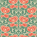 Damask seamless ornament. Royalty Free Stock Photo