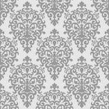 Damask seamless  ornamental Wallpaper for design Stock Photos