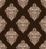 Damask Seamless Ornate Pattern Stock Image