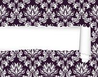 Damask seamless pattern Stock Photos