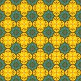 Damask seamless pattern. Damask flourish seamless pattern background Vector Illustration
