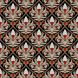 Damask seamless pattern Royalty Free Stock Photography