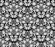 Damask seamless pattern Stock Photo