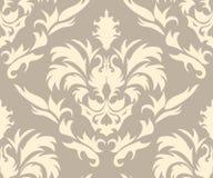 Damask seamless pattern royalty free illustration