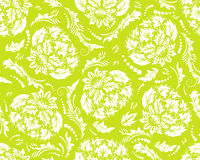 Damask seamless pattern Stock Photo