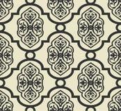 Damask seamless pattern vector illustration