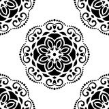 Damask Seamless Pattern. Abstract Background Stock Photography