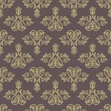 Damask Seamless Pattern. Abstract Background Royalty Free Stock Image