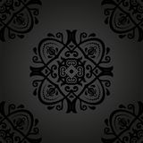 Damask Seamless Pattern. Abstract Background Royalty Free Stock Photos