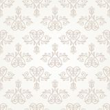 Damask Seamless Pattern. Abstract Background. Oriental seamless vector pattern with damask, arabesque and floral elements. Abstract background vector illustration