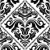 Damask Seamless Pattern. Abstract Background Royalty Free Stock Photography