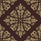 Damask Seamless Pattern. Abstract Background Stock Images