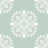 Damask Seamless Pattern. Abstract Background Stock Photos