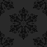 Damask Seamless Pattern. Abstract Background. Oriental vector pattern with damask, arabesque and floral elements. Seamless abstract background royalty free illustration