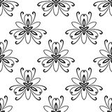 Damask Seamless Pattern. Abstract Background. Oriental vector pattern with damask, arabesque and floral elements. Seamless abstract background vector illustration