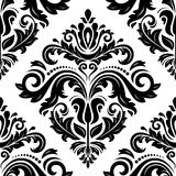 Damask Seamless Pattern. Abstract Background. Damask vector pattern. Seamless vintage abstract texture for background in the style of Baroque vector illustration