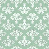 Damask Seamless Pattern. Abstract Background. Damask vector pattern. Seamless vintage abstract texture for background in the style of Baroque stock illustration