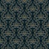 Damask seamless pattern. Stock Photography